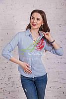 Рубашка женская весна 2017 от производителя - (код бл-113)