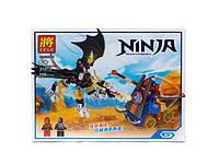 Конструктор ninja 31013 Атака дракона на катапульту в коробке 206 деталей