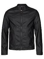 Мужская кожаная куртка Fitzhead Jacket черного цвета от Tailored & Originals (Дания) в размере L