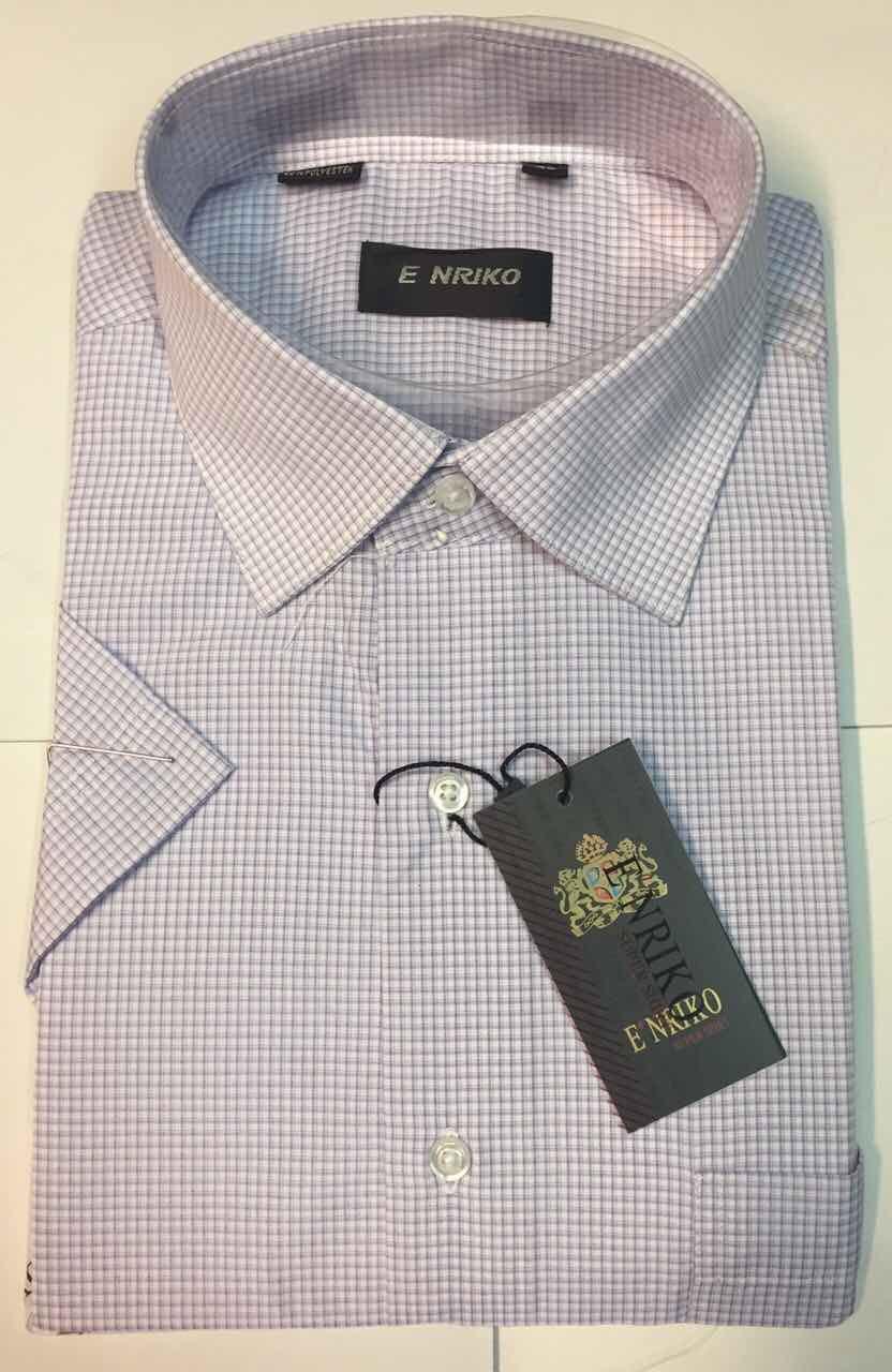Рубашка мужская ENRIKO  короткий рукав