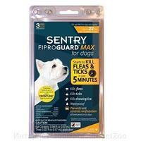 FiproGuard Max капли от блох, вшей, власоедов и клещей для собак весом до10 кг