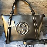 Женская кожаная сумочка Gucci Гуччи