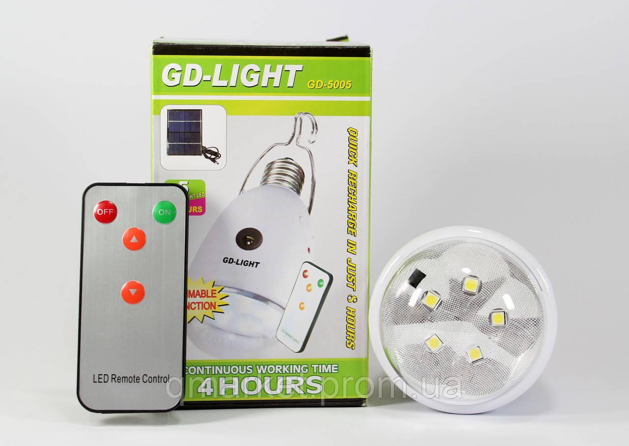Светодиодная лампа с аккумулятором GDLite GD-5005  - Интернет-магазин «Qmarket» в Одессе