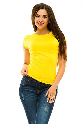 Футболка 022 желтая, фото 2