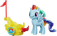 Рейнбоу Дэш с каретой - игровой набор, My Little Pony
