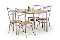 Комплект ELBERT stół + 4 krzesła buk
