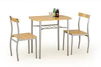 Комплект LANCE stół + 2 krzesła olcha