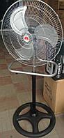 Новинка!!! Напольный-настольный вентилятор 2 в 1 FS-4521, хромированная решетка, металлические лопасти