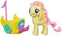 Флаттершай c каретой - игровой набор, My Little Pony