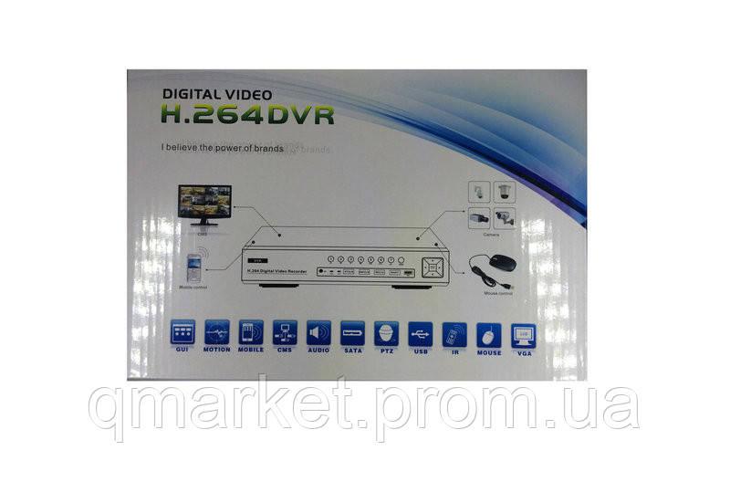Видеорегистратор DVR 6104V  - Интернет-магазин «Qmarket» в Одессе