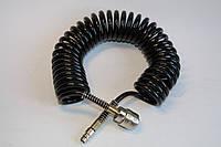 Шланг для пневмоинструмента 10 м спиральный с быстроразъемным соединением (РТ-1704)