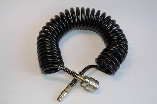 Шланг для пневматичного інструменту 10 м спіральний із швидкоз'ємним з'єднанням (РТ-1704)