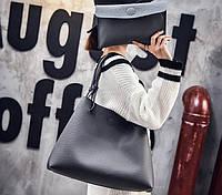 Большая сумка баула с клатчем