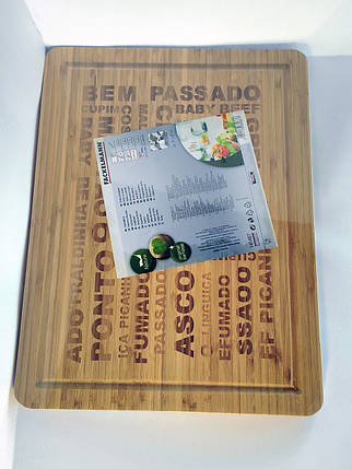 Доска бамбуковая евро, фото 2