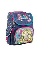 """Рюкзак (ранец) школьный каркасный """"Barbie jeans"""", 553271 1 Вересня"""