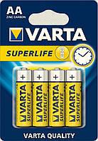 Батарейка VARTA SUPERLIFE AA BLI 4