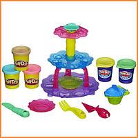Плей-До набор пластилина Башня кексов Play-Doh Sweet Shoppe Cupcake Tower Hasbro