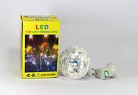 Диско лампа LASER Rotating lamp big, вращающаяся светодиодная диско лампа, диско шар для вечеринок