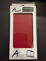 Чехол книжка Avatti HTC Desire 616 красный новый