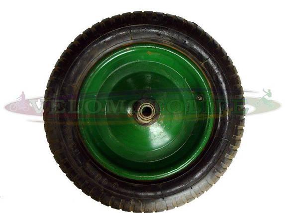 Колесо 3.50-7 (20мм) на садово-строительную тачку, фото 2