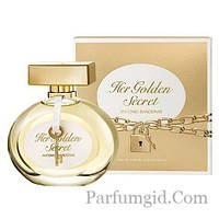 Antonio Banderas Her Golden Secret for Women EDT 80ml (ORIGINAL)