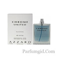 Azzaro Chrome United EDT 100ml TESTER (ORIGINAL)