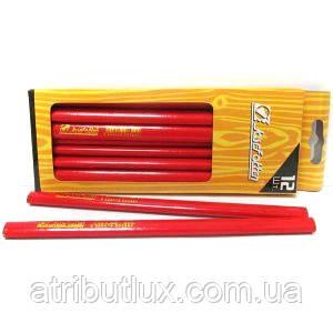 Карандаш простой плотницкий SH15223-12 HB 5мм