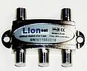 Коммутатор DISEqC 4x1  LIONSAT LS-41K6, фото 2