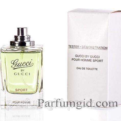 Gucci by Gucci Sport Pour Homme EDT 30ml TESTER (ORIGINAL) (туалетная вода  Гуччи бай Гуччи Спорт Пур Хом тестер оригинал) 7d19b63bc0279