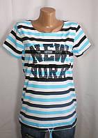 Модная футболка NEW YORK для лета