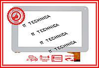 Тачскрин 186x111mm 30pin QCY-FPC070057-V1 БЕЛЫЙ