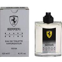 Ferrari Black Shine EDT 125ml TESTER (ORIGINAL)