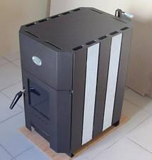 Огнев ПОВ-100 Б печь с теплообменником, фото 2