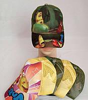 Кепка для мальчика (хлопок+ сетка) р-ры 52