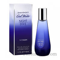 Davidoff Cool Water Night Dive Woman EDT 50ml (ORIGINAL)