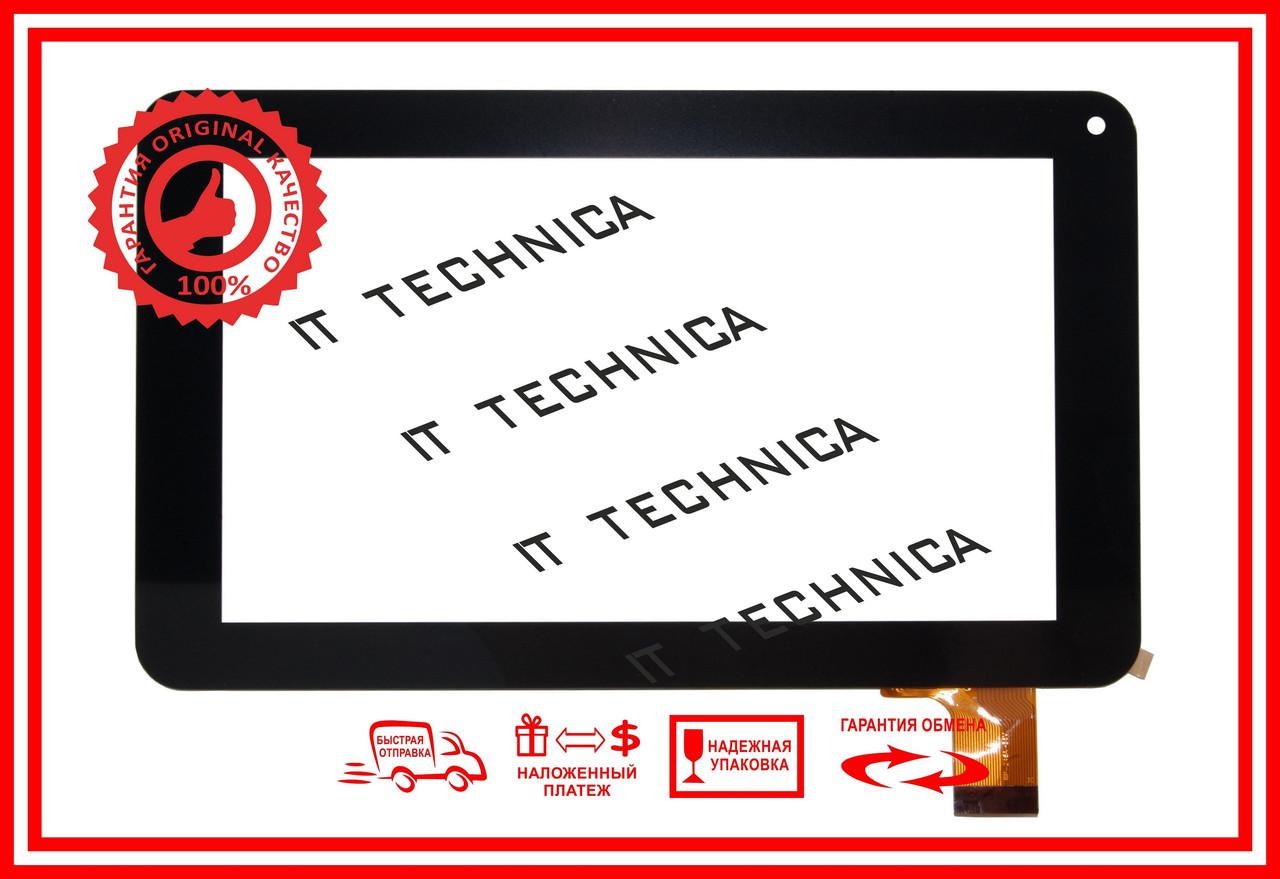 Тачскрин 186x111mm 30pin FPC-TP070098 TPT070-134 Черный