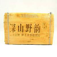 Чай Пуэр Шен Молодой Подарочный в бамбуке 250г