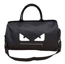 Спортивная/дорожная сумка со злимы глазками, фото 2