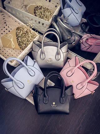 Елегантні сумки котики для модних дівчат, фото 2