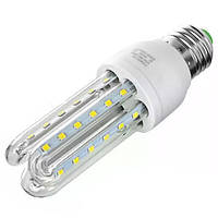 LED Лампа E27 3U LED 7W