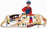 Дерев'яна залізниця Melіssa & Doug (MD701), фото 1