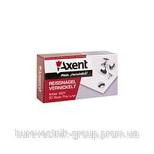 Кнопки никелированные Axent