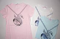 Детские футболки для девочек 6 - 8 лет,  Венгрия Emma girl 7798