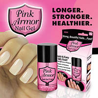Гель для укрепления и роста ногтей Pink Armor Nail Gel