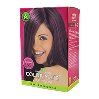 "Натуральная краска для волос Color Mate hair color от ТМ ""Henna Industries , цвет  Mahogany (9.5)"