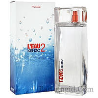 Kenzo L`Eau 2 Kenzo Pour Homme EDT 100ml (ORIGINAL) (туалетная вода Кензо Ле Пар 2 Кензо Пур Хом оригинал)