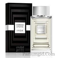 Lalique Hommage a L'Homme EDT 100ml TESTER (ORIGINAL)