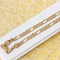 014-0653 - Позолоченная цепь плетение Картье, 60.5 см