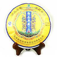 Чай Пуэр Шу Куньмин Паньлун Юбилейный 2008 года 357г