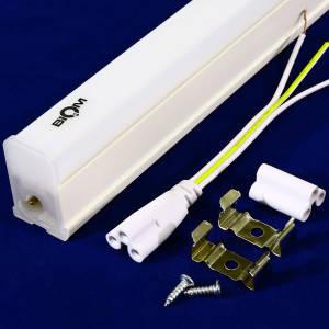 Светильник светодиодный линейный Biom Т5 9W 600мм 6200K пластик, фото 2